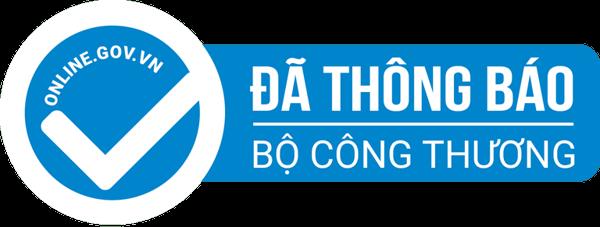 Logo chứng nhận của Bộ Công Thương